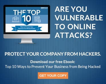 top ten ways to prevent your business from being hacked cta